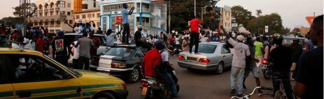 Abanye Gambia igihe c'amatora mu kwezi kwa 12