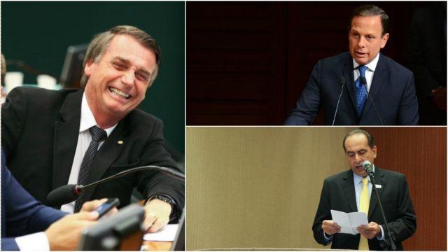 Bolsonaro, Doria & Kalil