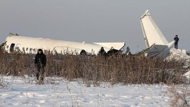 कज़ाकस्तान में विमान दुर्घटनाग्रस्त