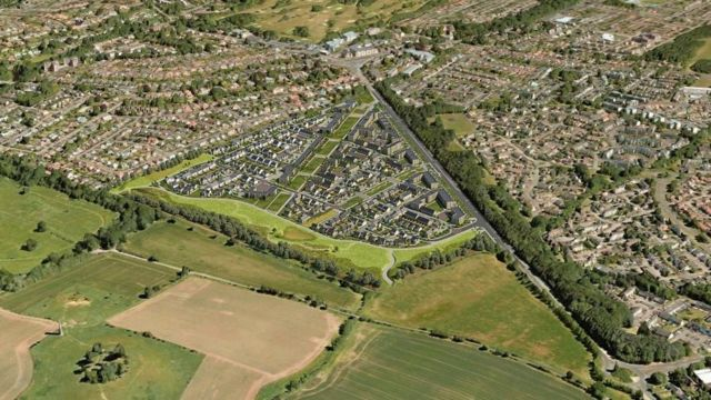 Controversial plan for 650 new homes in Edinburgh approved