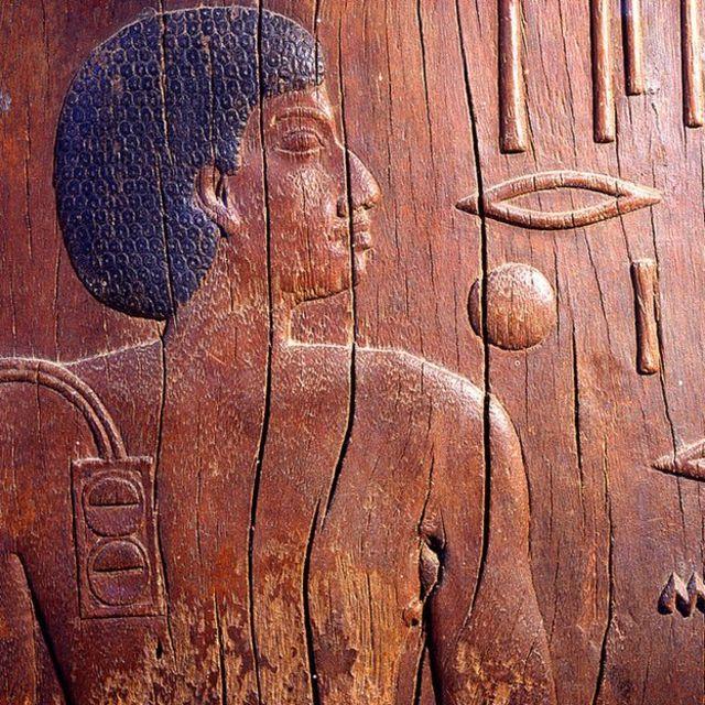 El mastaba de Hesire, un alto oficial del rey Zoser, era el jefe de los dentistas y médicos. 3ª dinastía circa 2700 a.C.