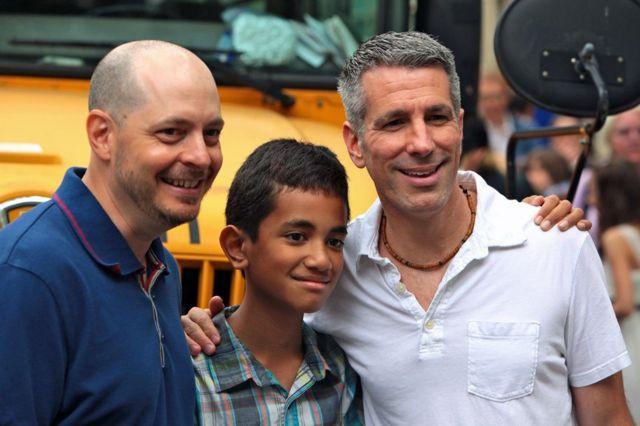 Pete, Danny y Kevin fotografiados en 2011.
