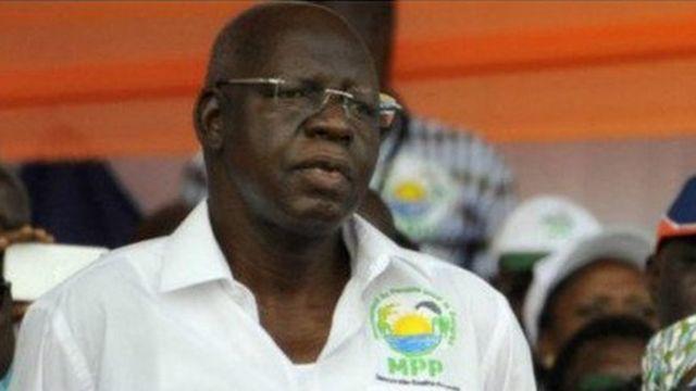 Salif Diallo, le président de l'Assemblée nationale du Burkina Faso