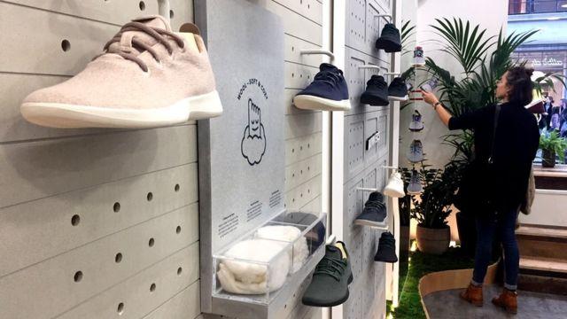 Allbirds бутик в лондонском районе Ковент-Гарден
