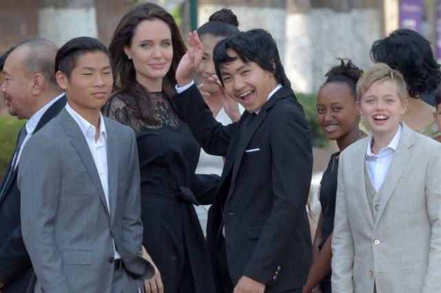 Jolie ve çocukları