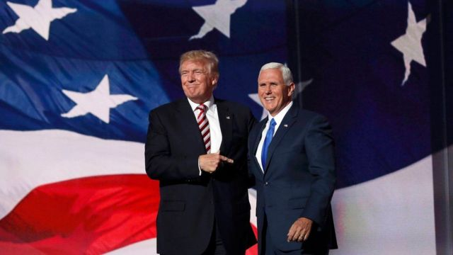 Donald Turmp and Mike Pence
