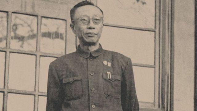 Puyi, en sus últimos años.