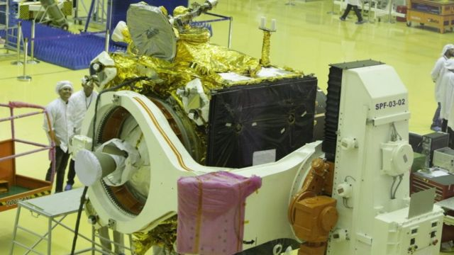 Chandrayaan-2: India unveils spacecraft for second moon mission