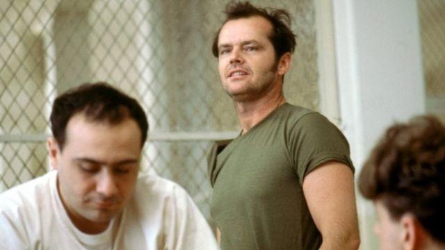 جک نیکلسون در صحنه ای از فیلم