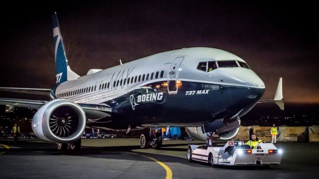 보잉 737 맥스 여객기