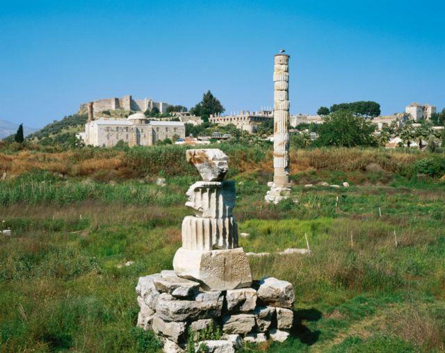Local onde ficava o templo de Ártemis