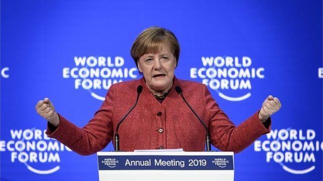 """""""Ми повинні бути економічно сильними, аби заявити про себе"""", - заявила канцлер Німеччини Ангела Меркель"""