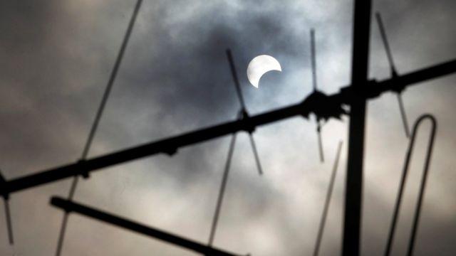 Eclipse desde Costa de Marfil
