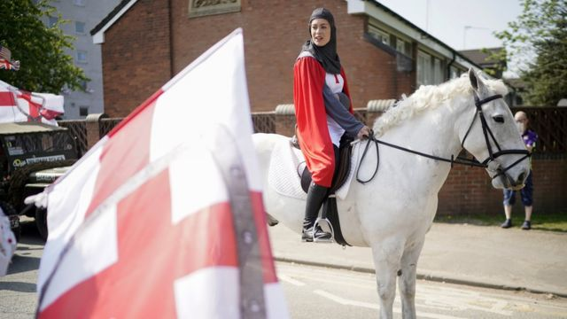 St George's Day: England marks saint's day but churches delay