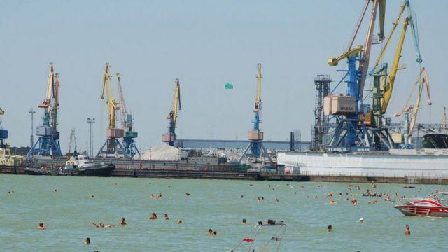 Морський порт у Бердянську