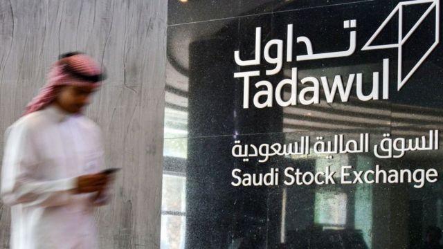 La bolsa de valores saudita también sufrió por la guerra de precios del crudo.
