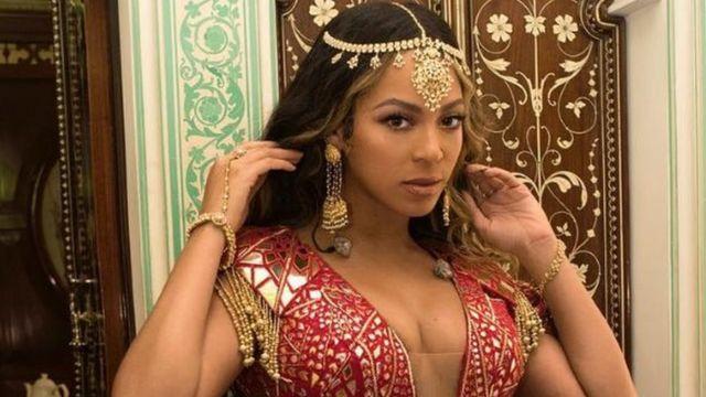 US singer Beyoncé