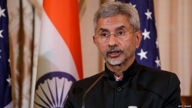भारत के विदेश मंत्री एस जयशंकर