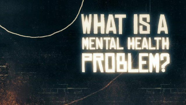 What is a mental health problem graphic