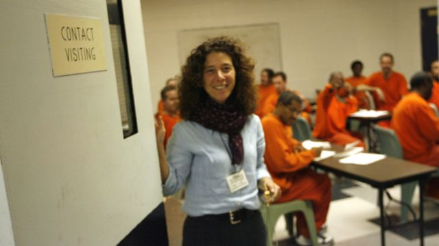 Margo at San Francisco County Jail, 2006