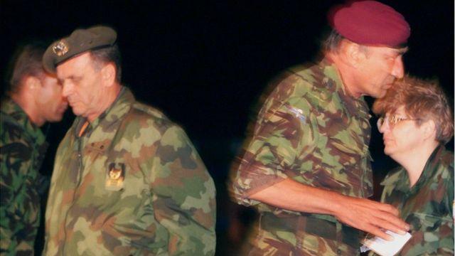Potpisivanje Kumanovskog sporazuma, Kumanovo, 9. jun 1999.