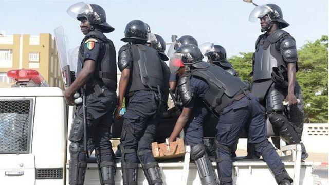 La police sénégalaise a annoncé mardi l'arrestation de trois djihadistes présumés à Dakar.
