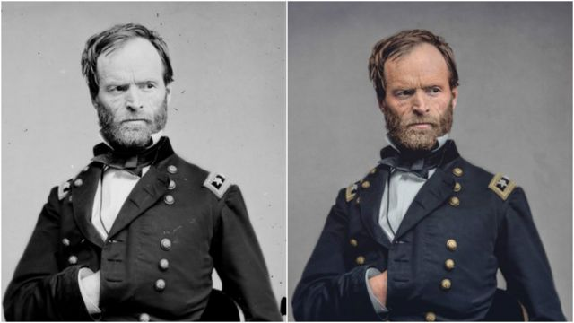 Fotos de general William T. Sherman