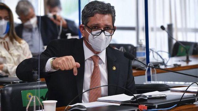 Rogério Carvalho na CPI