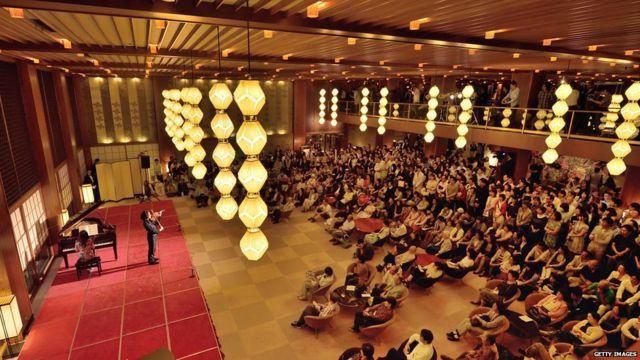 Farewell concert at the hotel Okura 31 August 2015