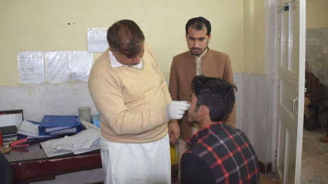 پشاور، بڈھ بیر، ٹیلہ بند، لیشمینیاسس، نصیر اللہ خان بابر ہسپتال، ایم ایس ایف