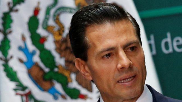El presidente de México, Enrique Peña Nieto, julio 18, 2016
