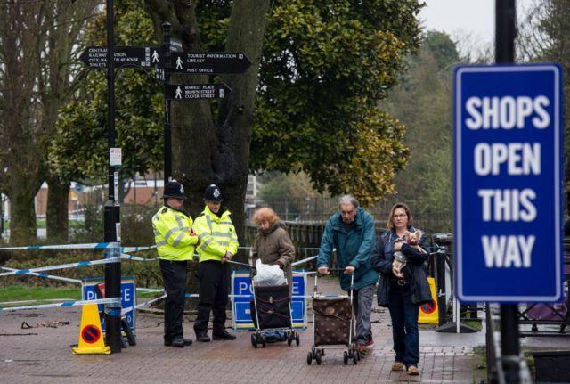 Полиция в Солсбери