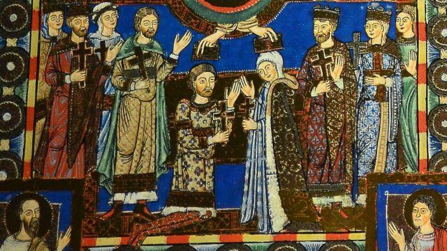 Англия ханбийкеси Матильда менен император Генрих V никелешүү учуру. Алар балалуу болушкан эмес, бирок бактылуу нике болгон деп айтылат