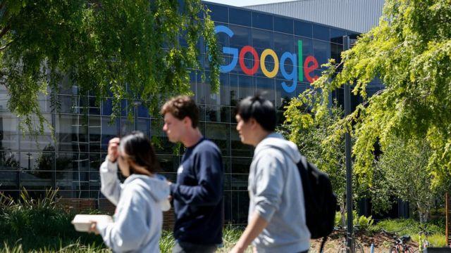 Một tòa nhà của Google tại Silicon Valley, California, nơi Kỹ sư Dương Ngọc Thái đang làm việc
