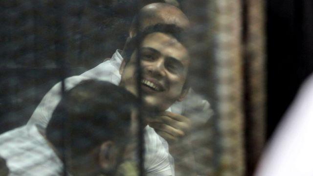 Abagirizwa gushinga umutwe wagandaguye umushinjaca wa republika, Hesham Barakat, bari mu rubanza i Cairo itariki 17/06/2017