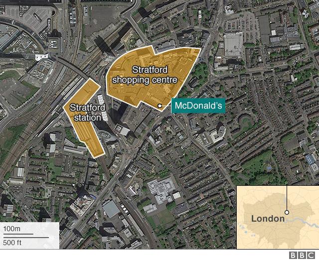 Stratford Stabbing Teenager Killed Outside Shopping Centre Bbc News