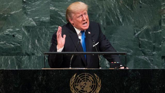 Президент Трамп на ГА ООН