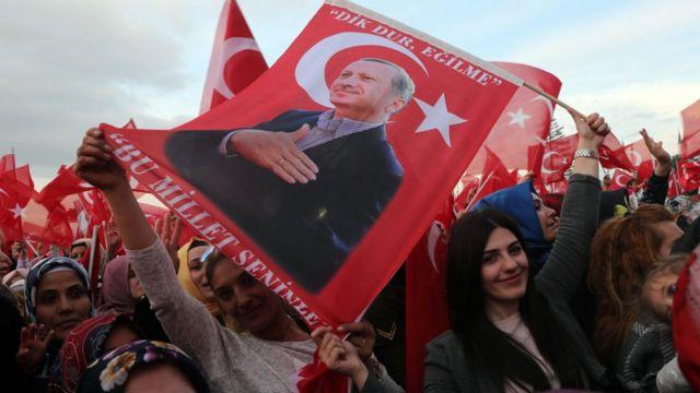 Erdoğan destekçileri
