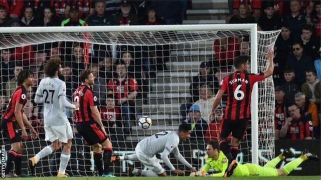 Ndị Man Utd gbara Bournemouth ọkpụ abụọ