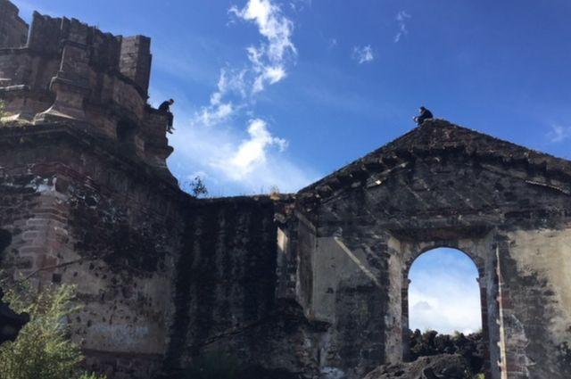 Iglesia de San Juan Parangaricutiro