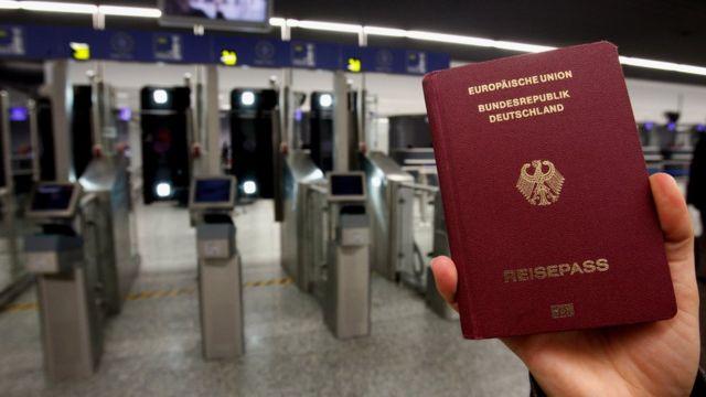 Almaniya pasportu