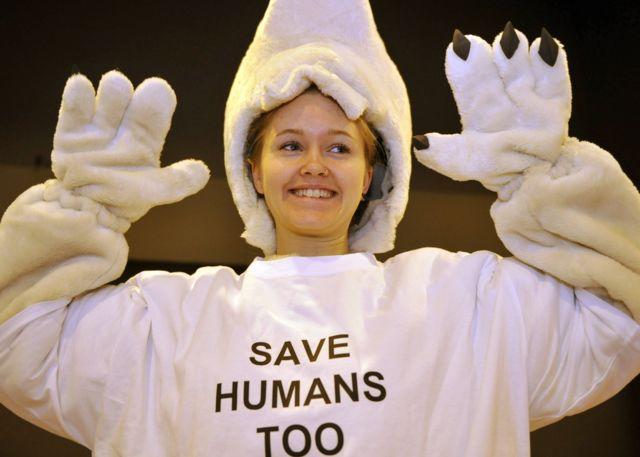 氣候變化不只是北極熊的問題,人類並不能獨善其身