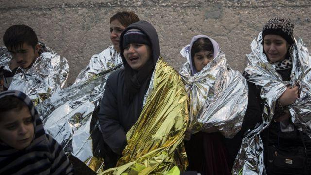 EU首脳らはトルコにいる移民を直接各国が受け入れる提案を議論する
