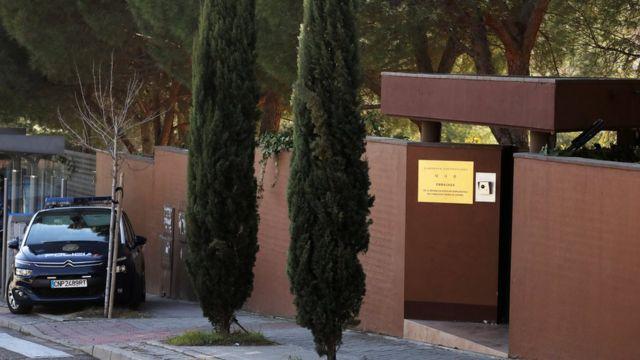 North Korea's Madrid embassy intruder contacted FBI, judge says