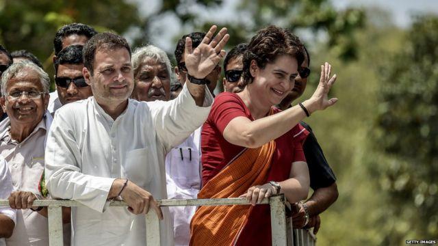 राहुल गांधी-प्रियंका गांधी