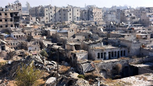 الدمار في حلب