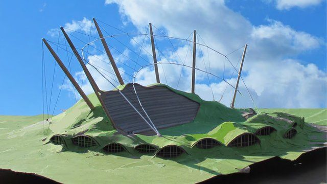 Shortlisted design for Forest Green Rovers stadium