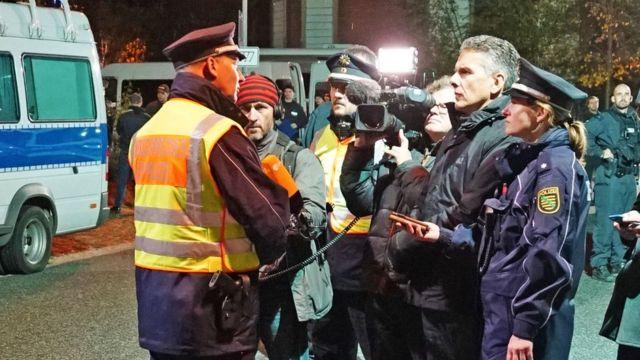 Полицейский брифинг