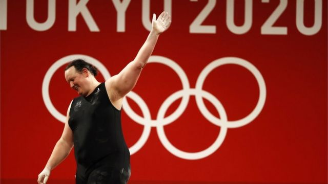 Hubbard's Olympic journey also came to an end after three failed snatches in women's competitions over 87 kg.