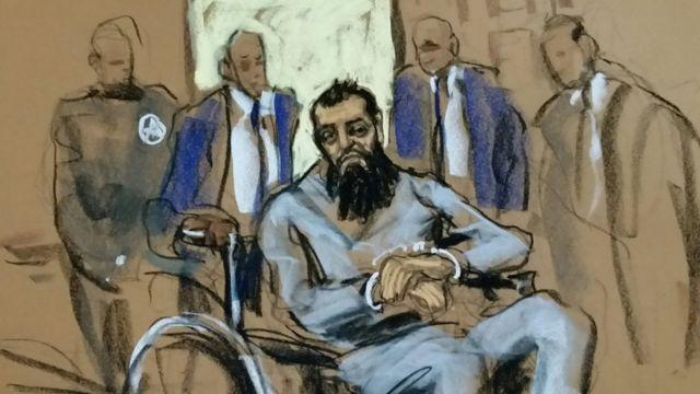 ساییپوف در دادگاه